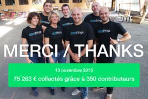 Campagne Kickstarter réussie !