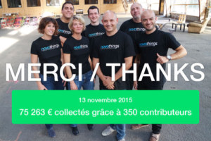 Successful Kickstarter campaign !
