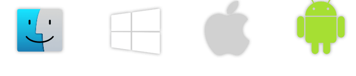 logo windows apple android