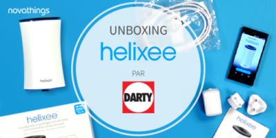 Unboxing helixee by Darty