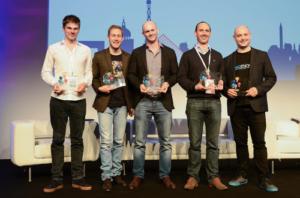 """Au #Connectdays, Novathings reçoit le prix de l'innovaton """"smart tech"""" pour Helixee, cloud personnel et réseau social privé"""