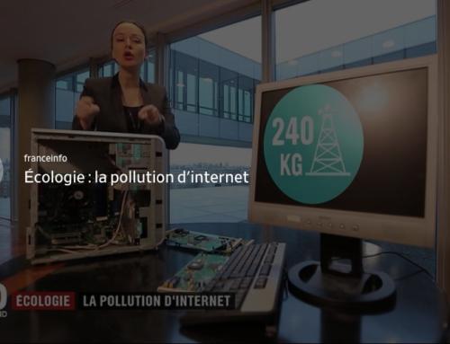[ Vidéo France 2] Ecologie : La pollution d'internet