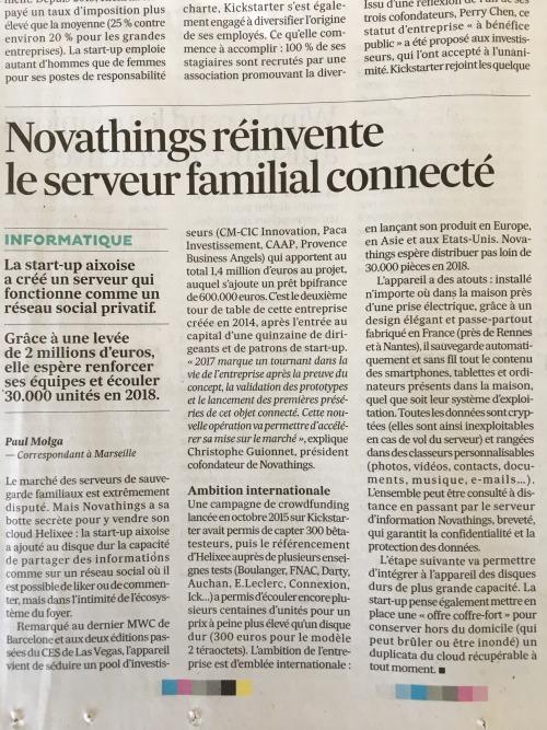 Novathings réinvente le serveur familial connecté