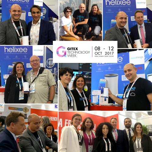 helixee at Gitex in Dubai