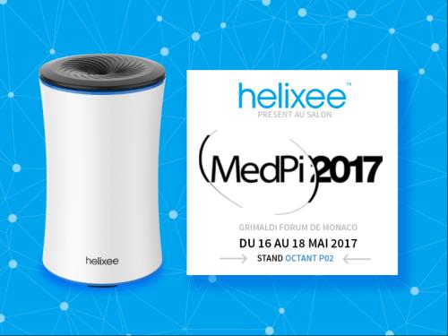 Retrouvez helixee au Medpi sur le stand Octant P02 du 16 au 18 mai