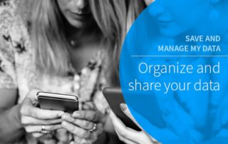 Organize and share your data