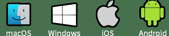 logo windows apple android